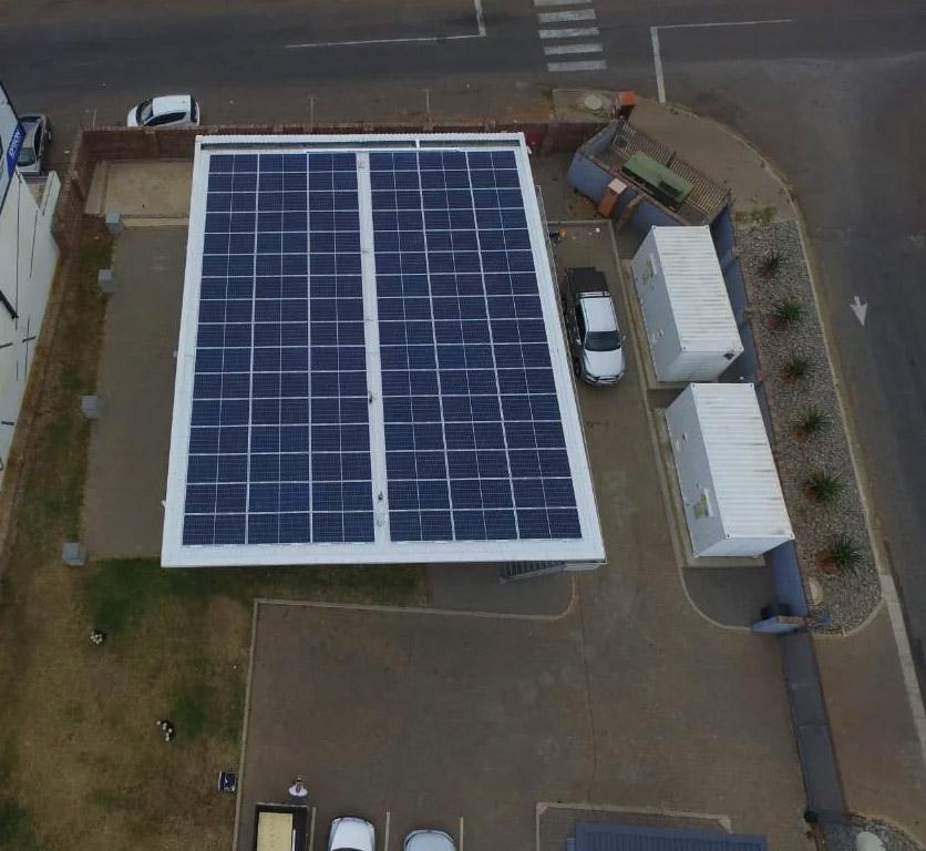 Vodacom installs solar power system in Randburg
